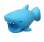 Cable cover (Blå haj) till iPhone