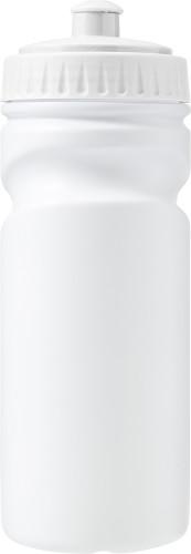 Återvinningsbar vattenfaska i HDPE (500 ml)